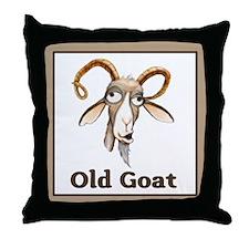 Old Goat Throw Pillow