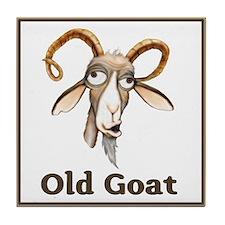 Old Goat Tile Coaster