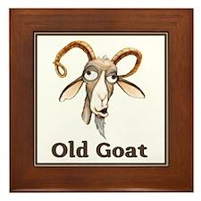 Old Goat Framed Tile