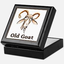 Old Goat Keepsake Box