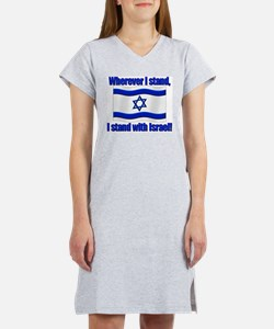 Cute Judaism Women's Nightshirt