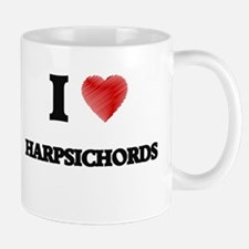 I love Harpsichords Mugs