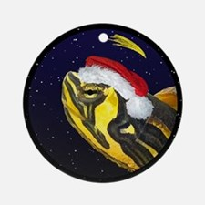 Christmas Night Yellow Bellied Slider Ornament