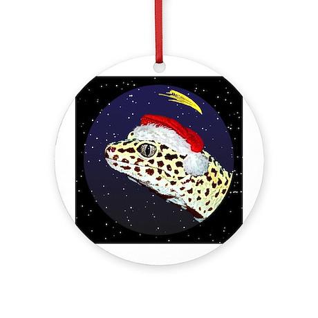 Christmas Night Leopard Gecko Christmas Ornament
