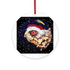 Christmas Night Eastern Box Turtle Ornament