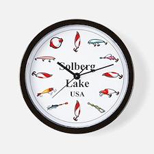 Solberg Lake Clocks Wall Clock