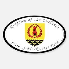Blackwater Keep Oval Decal