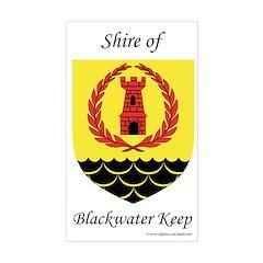 Blackwater Keep Rectangle Decal