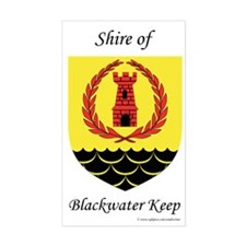 Blackwater Keep Rectangle Decal