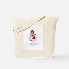 Cute Little ballerina Tote Bag