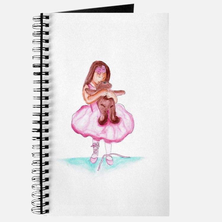 Cute Ballet bears Journal