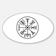 Vegvisir Sticker (Oval)