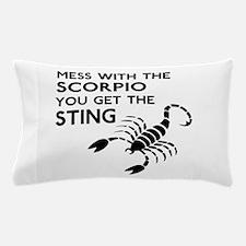 Scorpio Stings Pillow Case