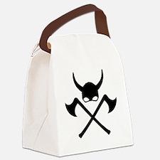 Cute Scandinavian viking Canvas Lunch Bag
