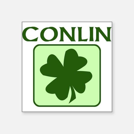 CONLIN Family (Irish) Rectangle Sticker