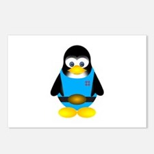 Tux penguin Postcards (Package of 8)