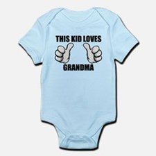 This Kid Loves Grandma Body Suit