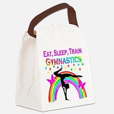 GYMNAST GIRL Canvas Lunch Bag