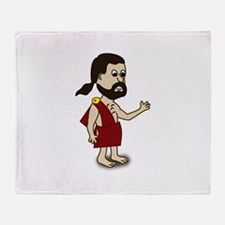 Comic Characters Toga Throw Blanket