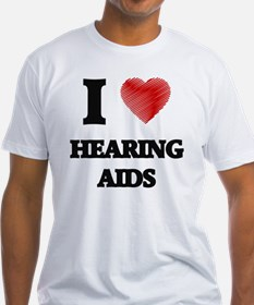 I love Hearing Aids T-Shirt