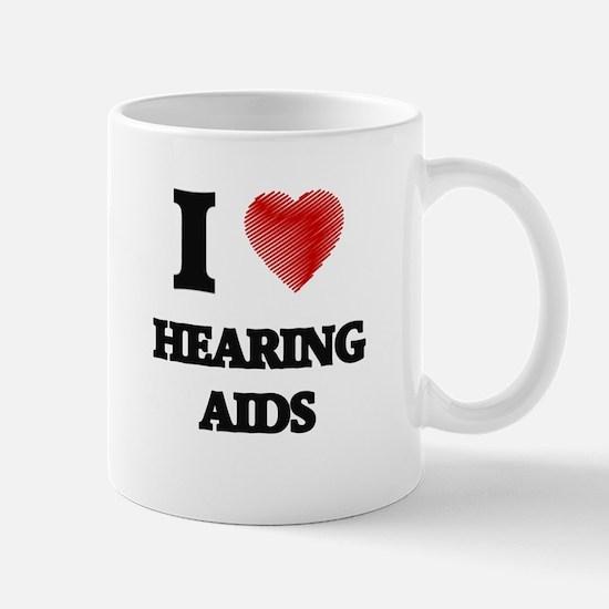 I love Hearing Aids Mugs