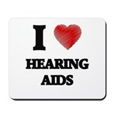 Hearing aids Mouse Pads