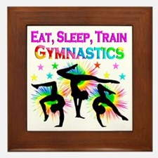 GYMNAST GIRL Framed Tile