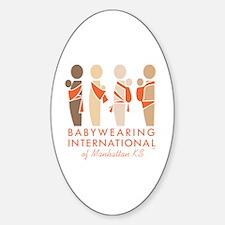 Unique Bwi Sticker (Oval)