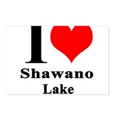 I heart Shawano Lake Postcards (Package of 8)