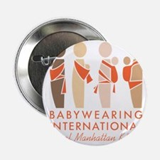 "Funny Babywearing 2.25"" Button"