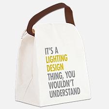 Lighting Design Canvas Lunch Bag