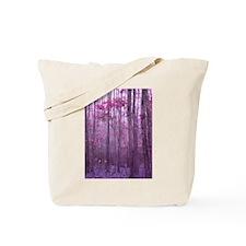Violet Winter Woods Tote Bag
