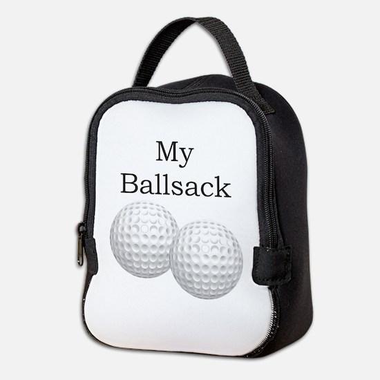 Golf Ball Sack - Ballsack Neoprene Lunch Bag
