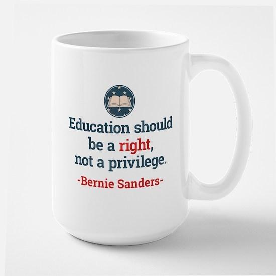 Education Bern Large Mug