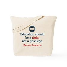 Education Bern Tote Bag