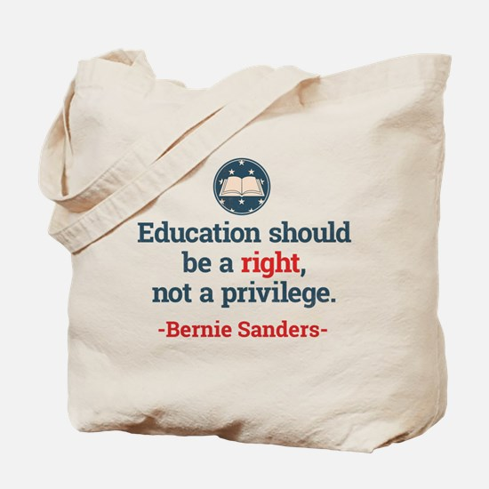 Education Bern Tote Bag