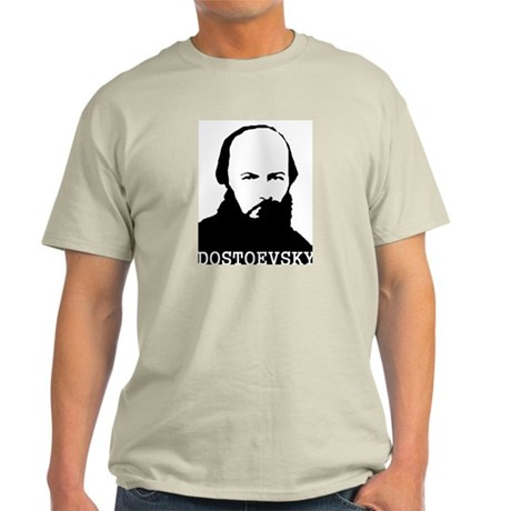 Ash Grey Dostoevsky T-Shirt