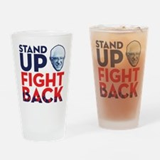Fight Back Drinking Glass