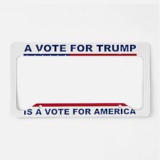 Unique Republican 2016 License Plate Holder