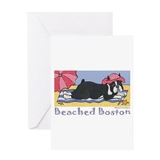 Beached Boston! Greeting Card