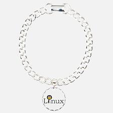 Linux text with funny tu Bracelet
