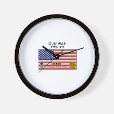 Gulf War Wall Clock