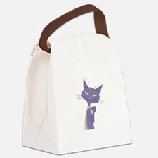 Mother cat Canvas Lunch Bag