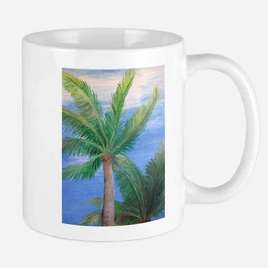 Palms Blowing in the Wind, Key West Mugs