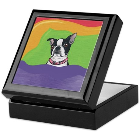 Boston Terrier BEDTIME! Keepsake Box