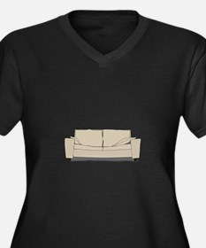 Couch Plus Size T-Shirt