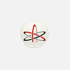 Atom of Atheism Remixed Mini Button (100 pack)