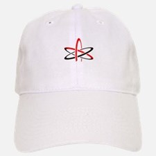 Atom of Atheism Remixed Baseball Baseball Cap