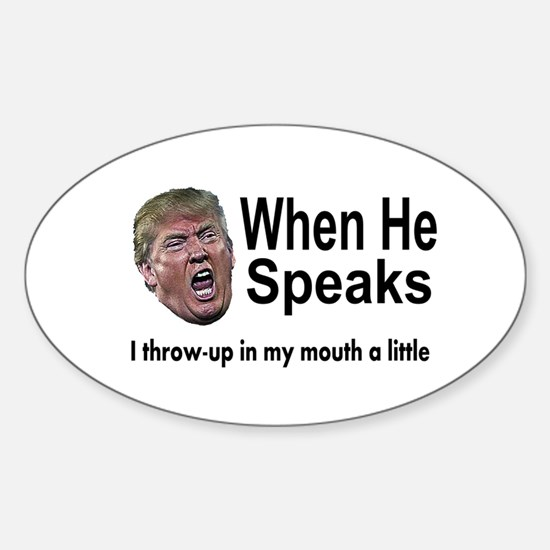 when the Don Speaks Decal