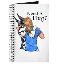 Need A Hug? HC Great Dane Notepad